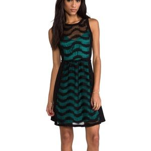 Plenty by Tracy Reese Lace Spirals Dress